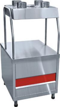 Прилавок для приборов и подносов ПСП-70КМ линия раздачи питания Аста