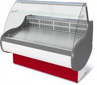 Холодильная витрина Таир ВХС-1.5 . Витрина холодильная для магазина. Холодильная витрина среднетемпературная Таир ВХС-1.5. Витрина холодильная Таир ВХС-1.5. Холодильная витрина для магазина.